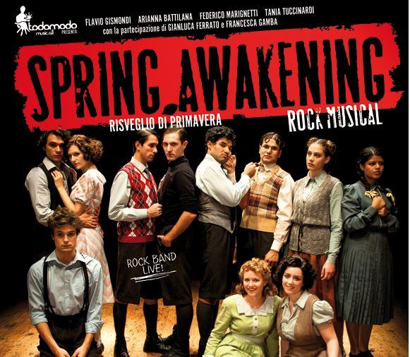 Spring Awakening: dopo il trionfo di Milano, questa sera debutta a Firenze