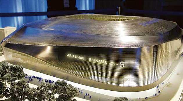 Il Bernabéu cambia nome in Abu Dhabi. Al Real 425 milioni spalmati in vent'anni