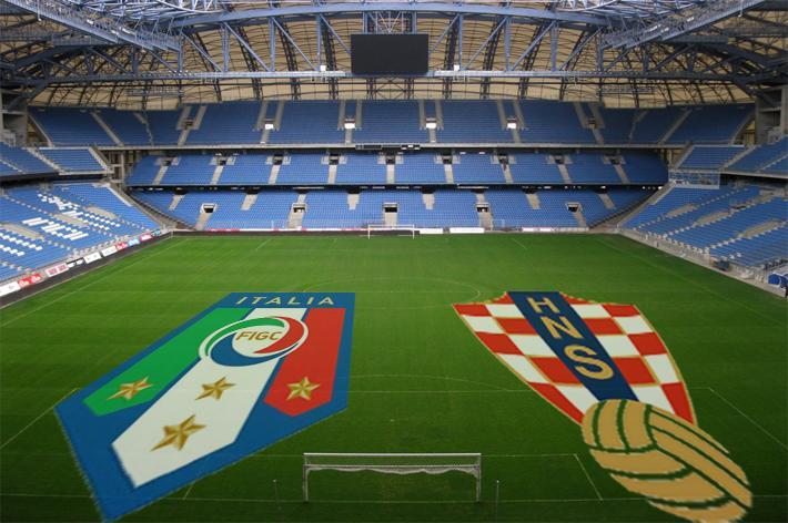 Italia spenta, Croazia super. Ma è pari tra i fumogeni