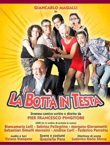 Giancarlo Magalli torna a teatro con 'La botta in testa' per la regia di Pier Francesco Pingitore