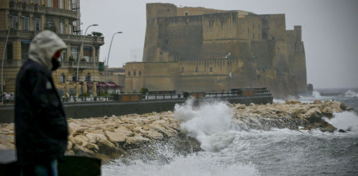 Maltempo, allarme a Capri e Napoli