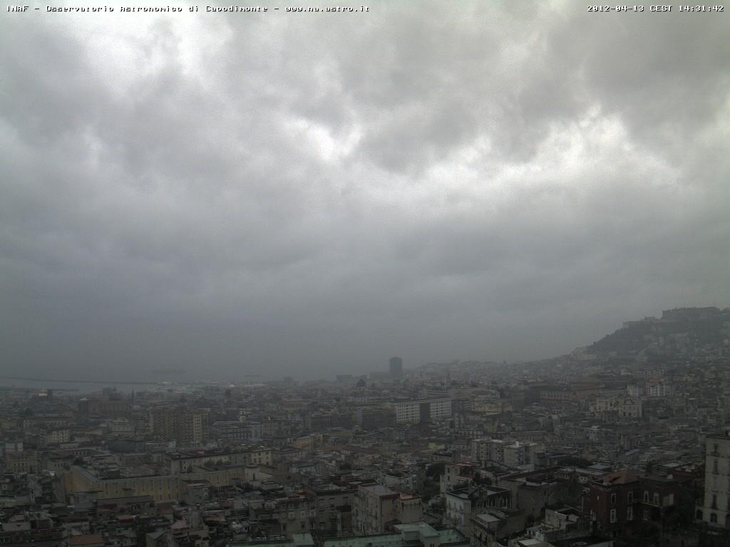 Allerta in Campania: in arrivo pioggia e freddo