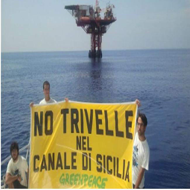 Sblocca trivelle: Greenpeace e i ricercatori dell'università contro il decreto