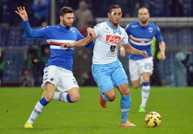 Eder spinge la Samp ma Zapata salva il Napoli: 1-1 a Marassi