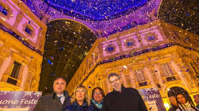 50mila led ad illuminare la Galleria, il salotto di Milano