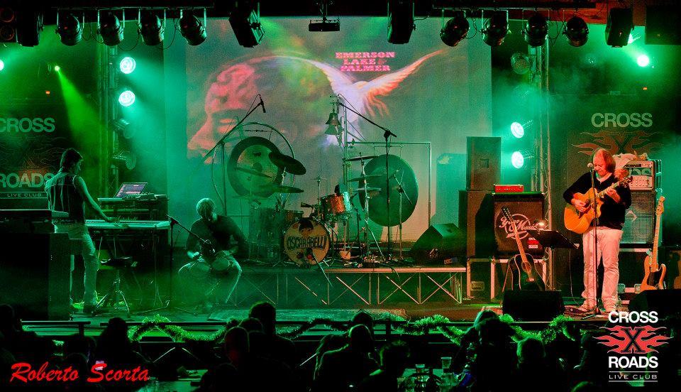 Emerson Lake & Palmer Project al Cross Roads Live Club