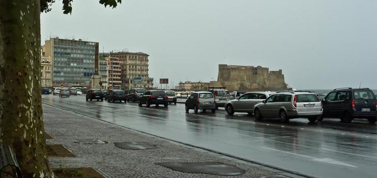 Maltempo in Campania. Vigili del Fuoco in azione, ma le previsioni sono buone