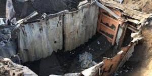 covo bunker utilizzato dalla 'drangheta