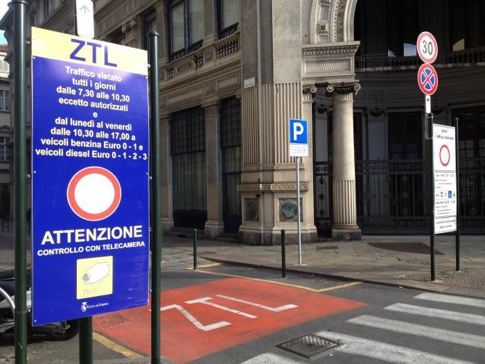 Torino: nuove disposizioni ZTL
