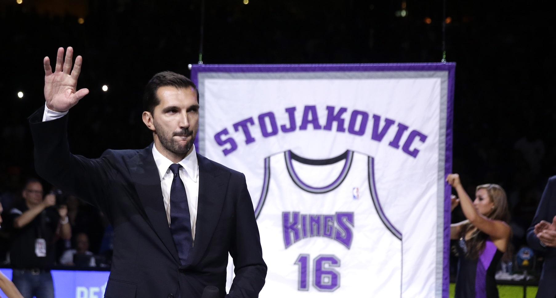 Basket NBA : I Kings ritirano la maglia di Peja Stojakovic