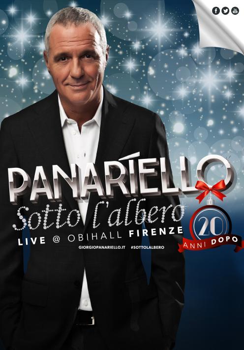 Giorgio Panariello debutta all'Obihall di Firenze…sotto l'albero vent'anni dopo