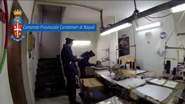 Lavoro nero: un arresto, 11 denunce, sette fabbriche chiuse nell'area Vesuviana.