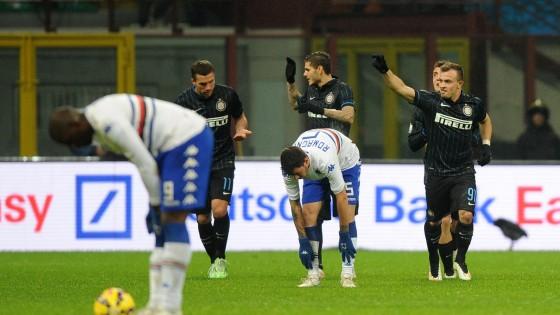 Coppa Italia, Inter – Sampdoria 2-0, decidono Shaqiri e Icardi