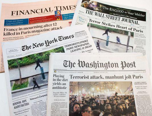 """Stati Uniti: l'imbarazzo per la pubblicazione di """"Charlie Hebdo"""""""