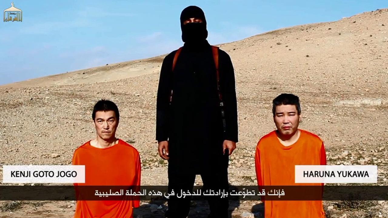 L'ISIS minaccia di uccidere due ostaggi giapponesi
