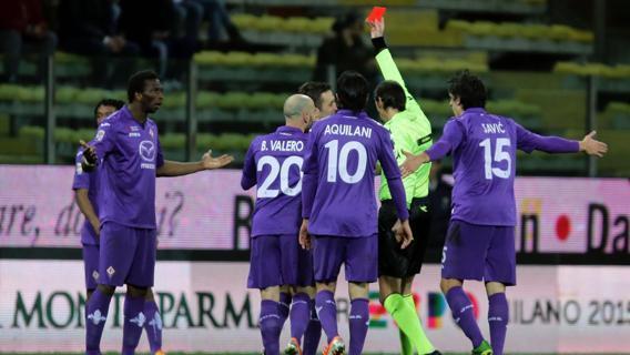 Il Parma vince di misura sulla Fiorentina, errore di Gomez dal dischetto