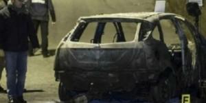 Auto bruciata a Lamezia Terme