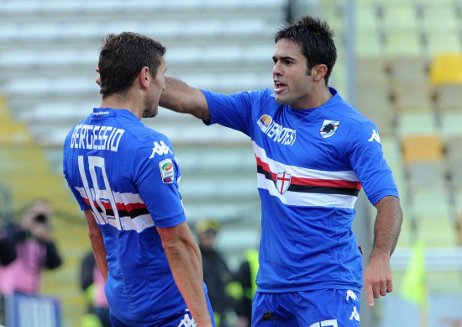 Continua il sogno Samp: affossato il Parma e raggiunto il terzo posto