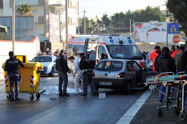 Bari, ucciso a colpi di Kalashnikov il pregiudicato Nicola Lorusso