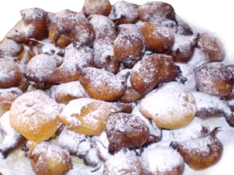 Friciò piemontese: il dolce del carnevale