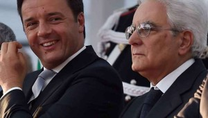 Matteo Renzi - Sergio Mattarella
