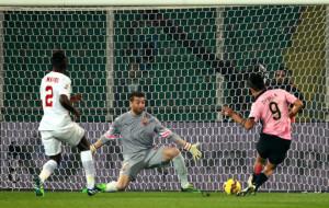 Palermo-Roma, il gol di Dybala-2