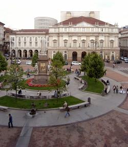 Piazza della Scala ancora più luogo simbolo di cultura. Un concorso di idee internazionali ne accrescerà l'identità