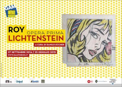 Torino si tinge di color fumetto con Roy Lichtenstein