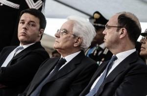 Renzi Mattarella Alfano