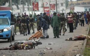 Bomb blast in Kaduna Nigeria