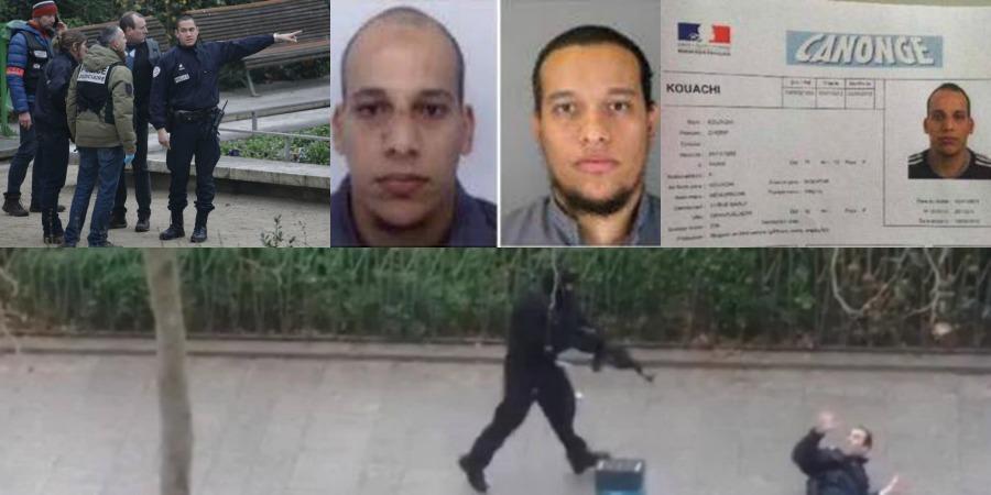 Attentato al Charlie Hebdo, identificati i 3 assalitori