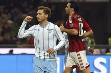 Milan fuori dalla Coppa Italia, a San Siro passa la Lazio