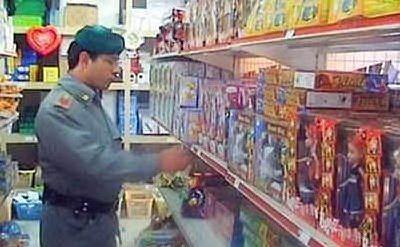 Finanzieri aggrediti con un punteruolo in un negozio cinese