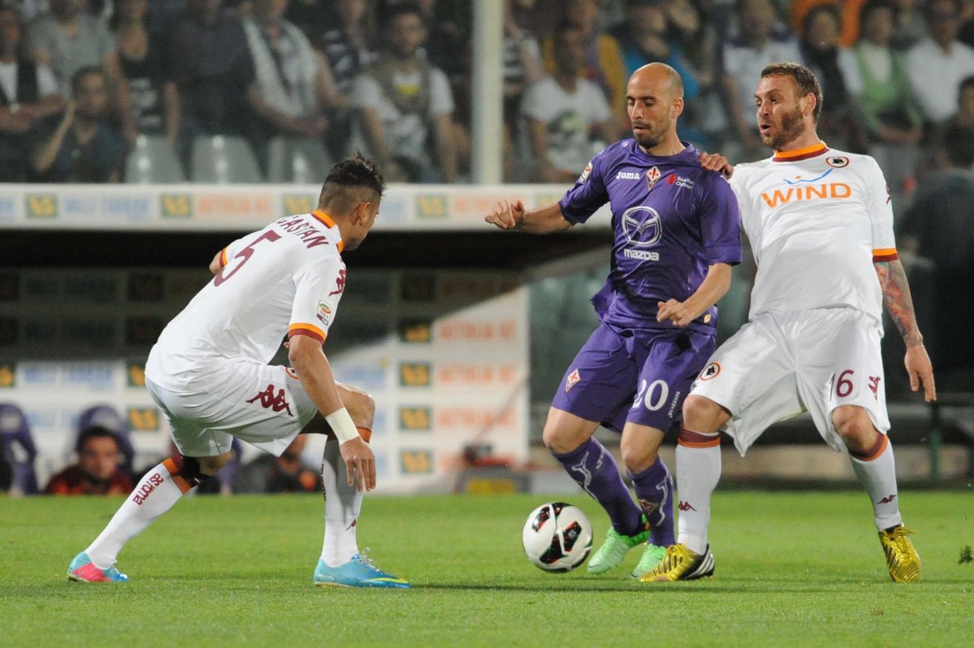 Parità tra Fiorentina e Roma, a Gomez risponde l'ex Ljajic