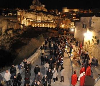 Matera, Presepe vivente: 50-60 mila visitatori e tutto esaurito in città