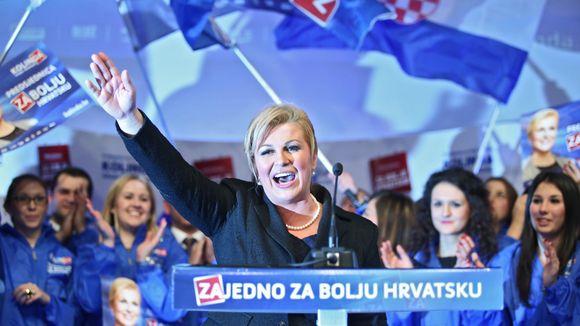Croazia, Grabar-Kitarovic è la prima donna Presidente