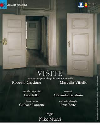 """""""Visite"""", al Circolo Teatro Arcas, Niko Mucci dirige Francesca Vitiello e Roberto Cardone"""