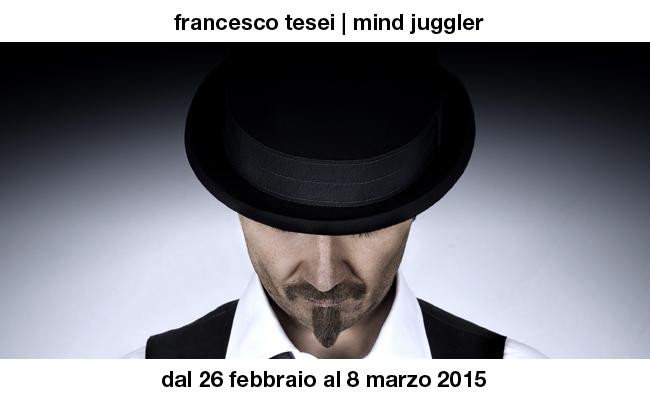 """""""Mind Juggler"""", uno spettacolo sul mentalismo al Teatro Vittoria di Roma"""