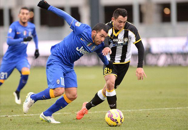 L'Udinese ferma la Juventus: pareggio a reti bianche al Friuli