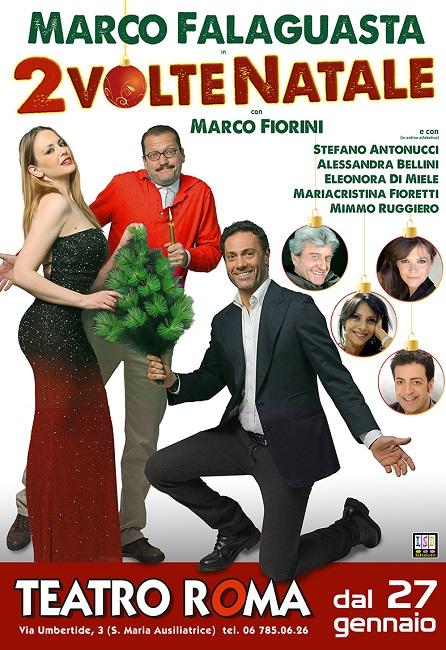 """""""Due volte Natale"""", la commedia del mistero al Teatro Roma"""