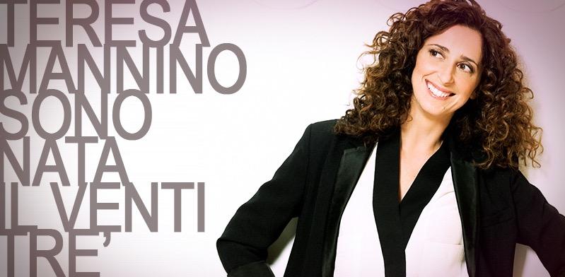 """Teresa Mannino: """"Sono nata il 23"""" arriva al Nuovo di Milano"""