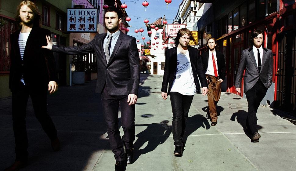 """Maroon 5: il nuovo singolo in radio da domani è """"Sugar"""", poi gli Oscar e verso Milano"""