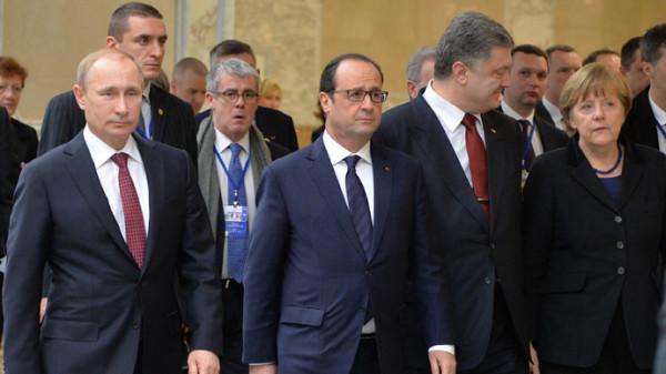 Summit di Minsk: raggiunto un accordo per l'Ucraina tra i capi di Stato russo, tedesco e francese