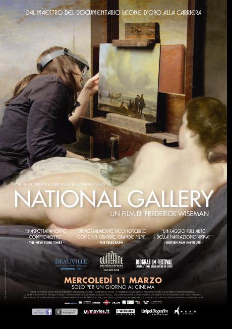 Visita guidata alla National Gallery, quando il cinema è metarealtà