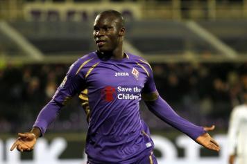 Fiorentina batte Sassuolo 3 a 1, doppietta di Babacar