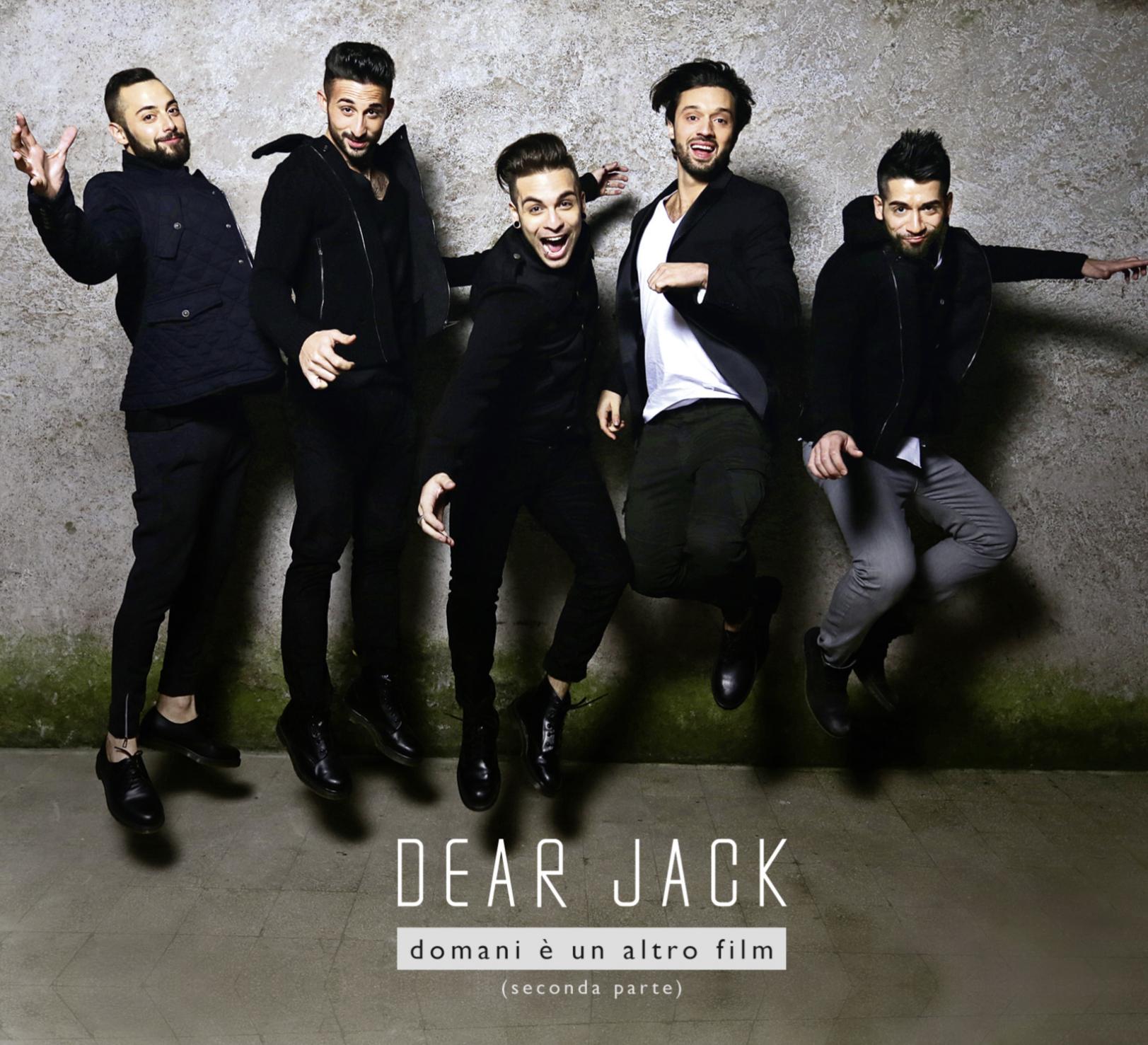 """I Dear Jack trionfano tra gli album sanremesi, """"Domani è un altro film – Seconda parte"""" è il più venduto"""
