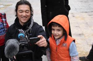 Il giornalista giappoense Kenji Goto