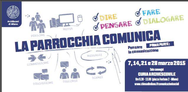 """""""La Parrocchia comunica"""", un responsabile della comunicazione in ogni parrocchia"""