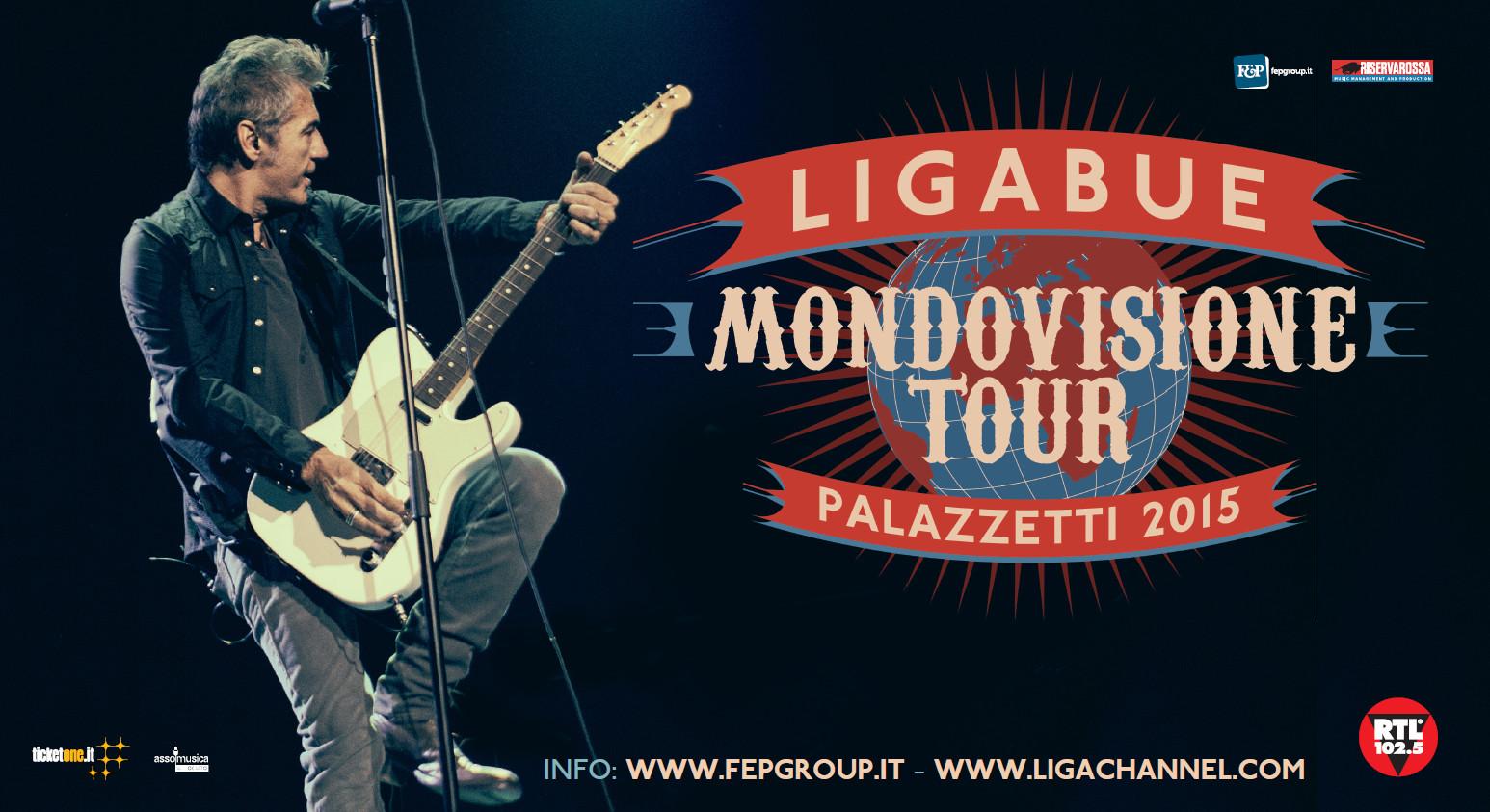 Ligabue cambia scaletta per i palasport, una canzone sarà scelta dai fans e i concerti sono tutti sold-out!