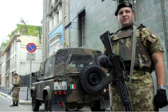 Roma, 500 militari in più a tutela della sicurezza